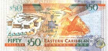 50 EC Dollar Bill
