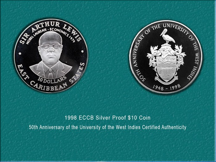 50th Anniversary of the UWI Silver: $135.00